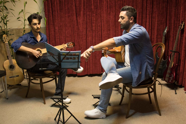 کلاس گیتار فلامنکو