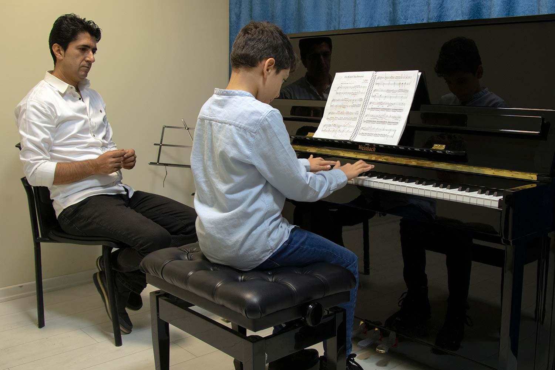 کلاس پیانو ایرانی و کیبورد
