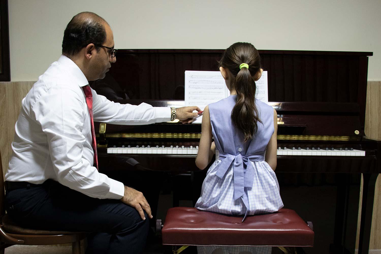 کلاس پیانو کلاسیک و ایرانی