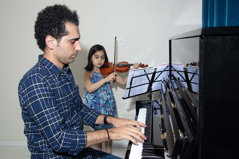 کلاس ویولن ایرانی