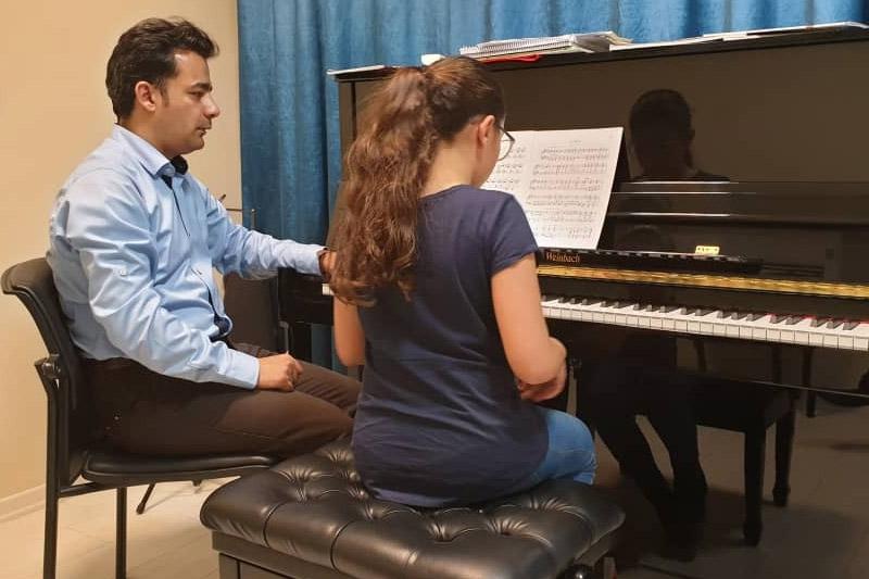 کلاس پیانو کلاسیک