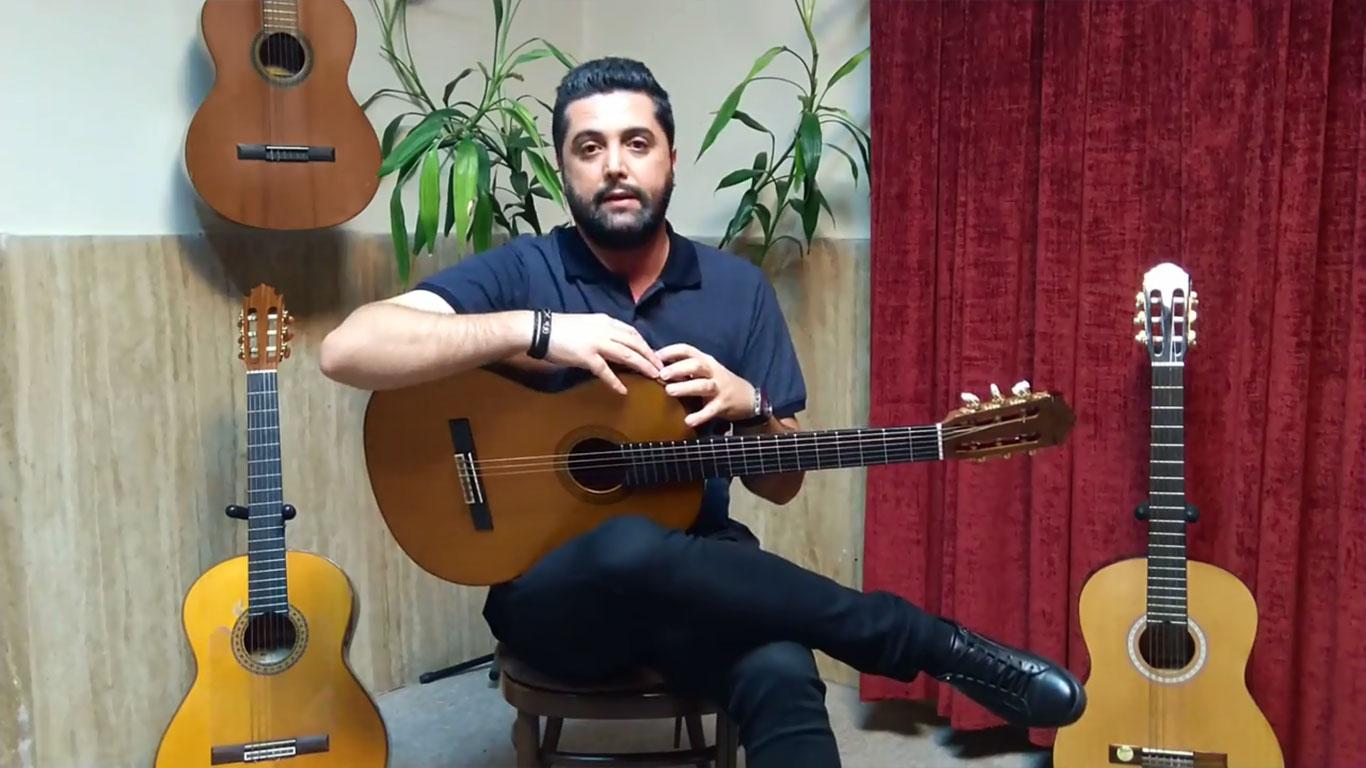 آشنایی با گیتار فلامنکو