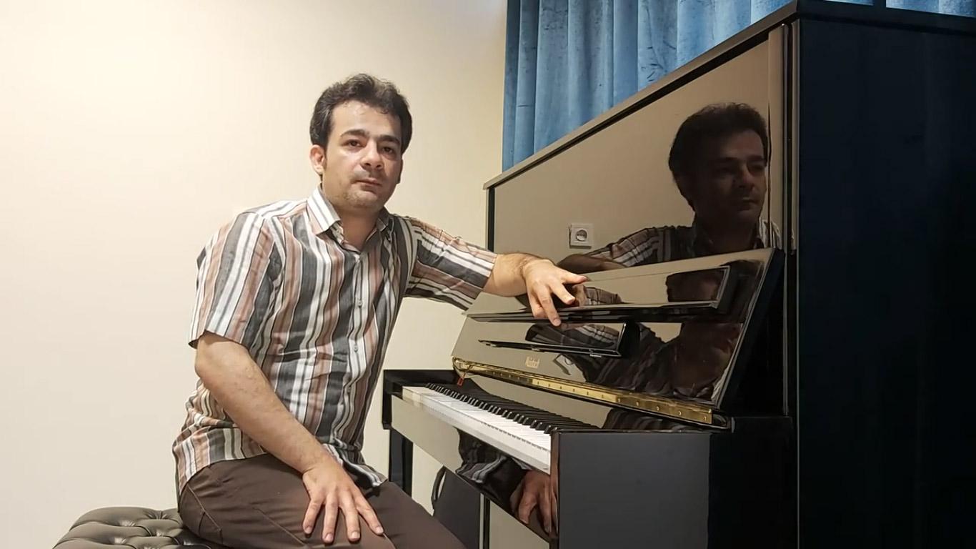ابراهیم دشتگلی مدرس پیانو، تئوری، هارمونی و سلفژ